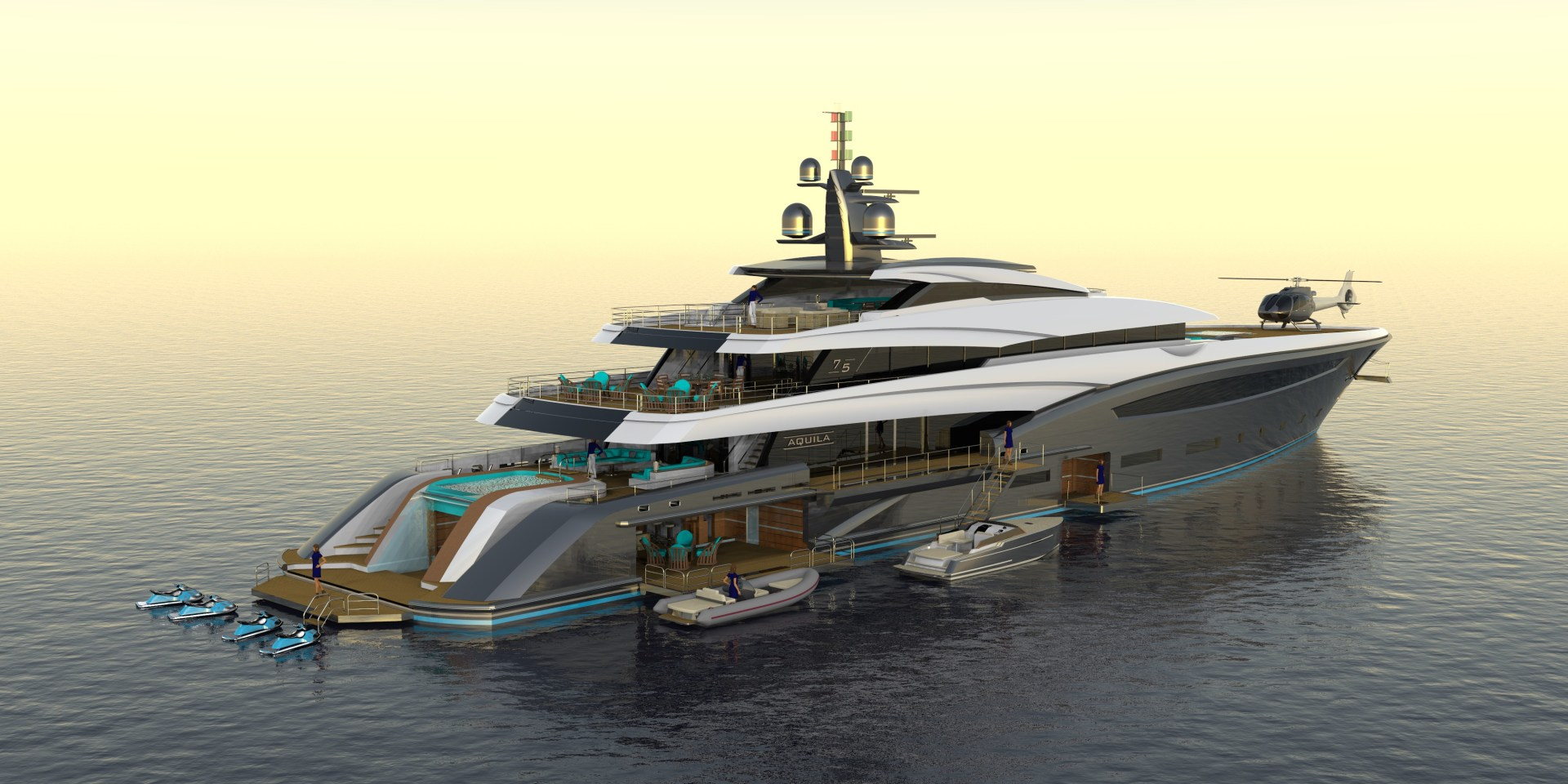 Picture Of a 2023 Custom 246 Motor Yacht Motor Yachts   1099209