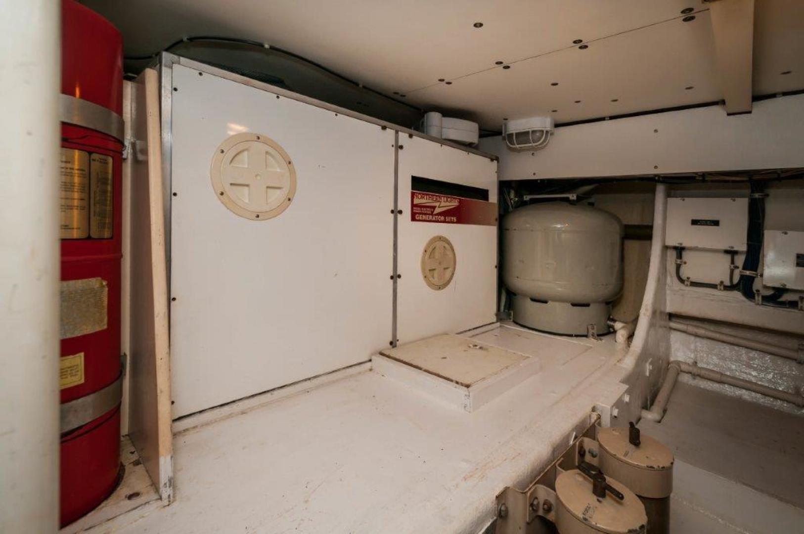 Bertram-60 Convertible 1998-Lady Rosa Pensacola-Florida-United States-Starboard Generator-720390   Thumbnail