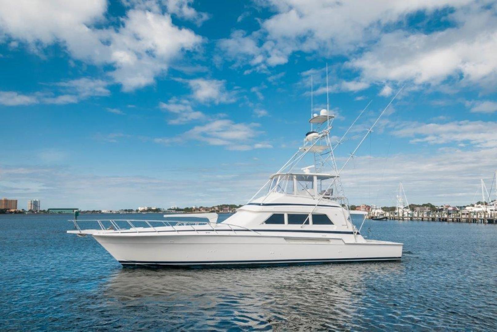 Bertram-60 Convertible 1998-Lady Rosa Pensacola-Florida-United States-1998 60 Bertram Convertible Lady Rosa Port Profile (2)-720382   Thumbnail