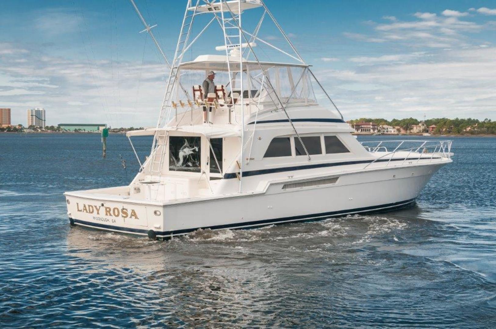 Bertram-60 Convertible 1998-Lady Rosa Pensacola-Florida-United States-1998 60 Bertram Convertible Lady Rosa Starboard Quarter-720380   Thumbnail