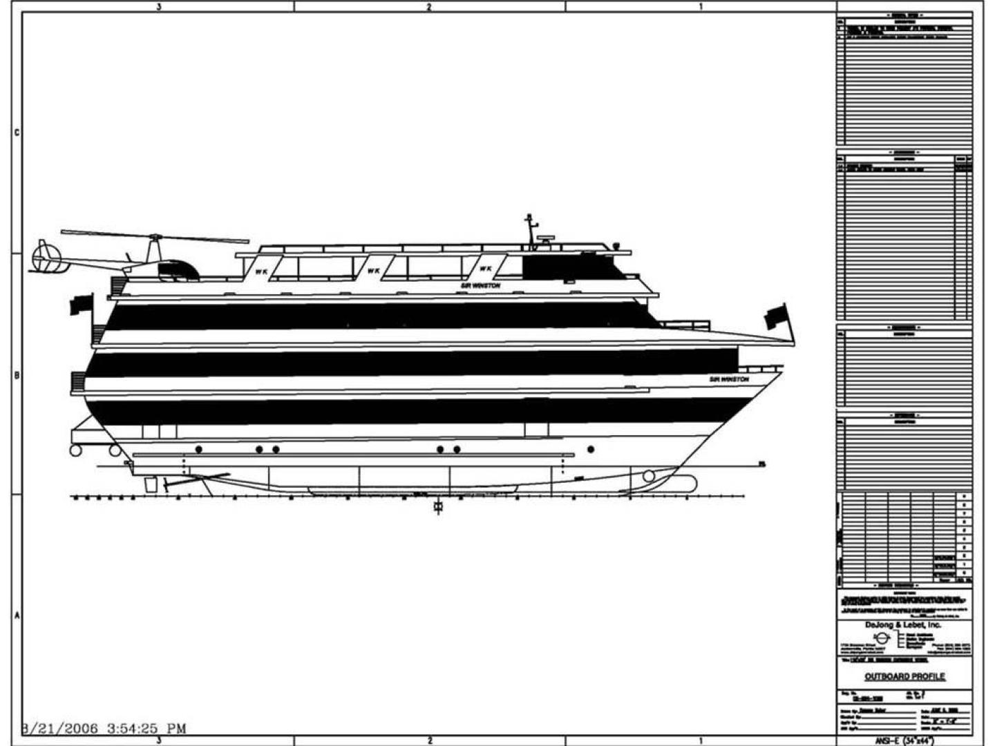 Custom-Keith Marine Dinner Boat 2006-Sir Winston Tampa-Florida-United States-Rendering-367635 | Thumbnail