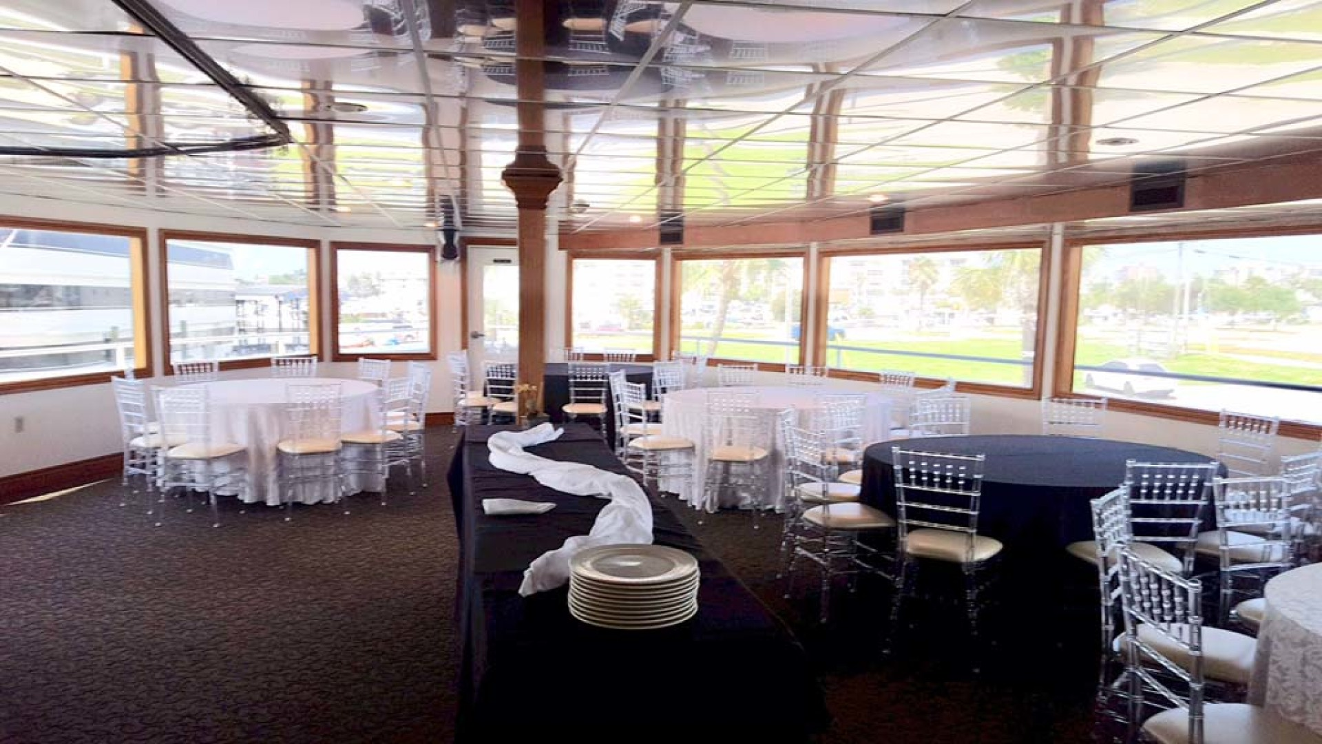 Custom-Keith Marine Dinner Boat 2006-Sir Winston Tampa-Florida-United States-Deck 2 The Crystal Room-1115549 | Thumbnail