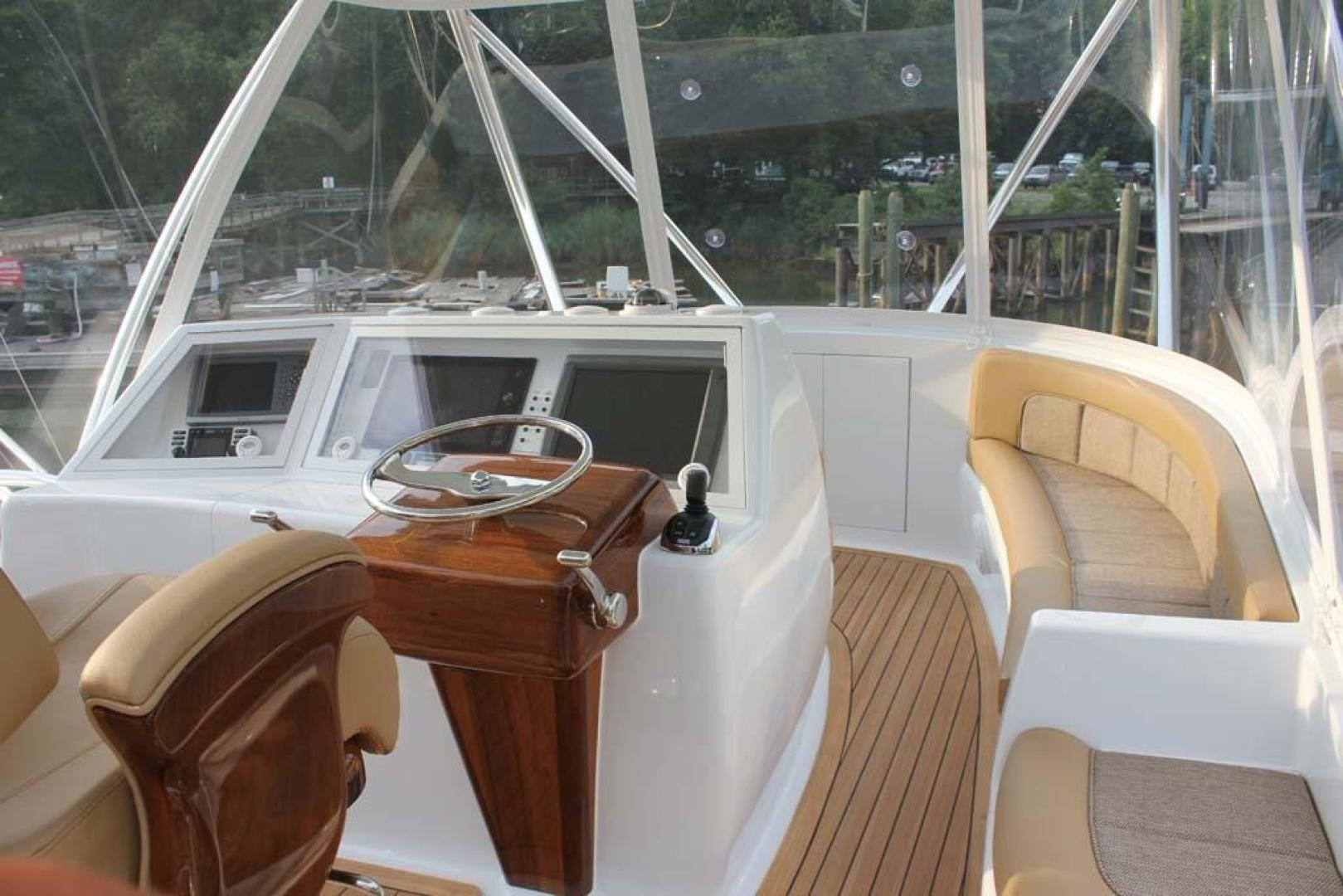 F&S-Convertible 2013-Triple F Coral Gables-Florida-United States-Flybridge Starboard Forward Seating-1016954   Thumbnail