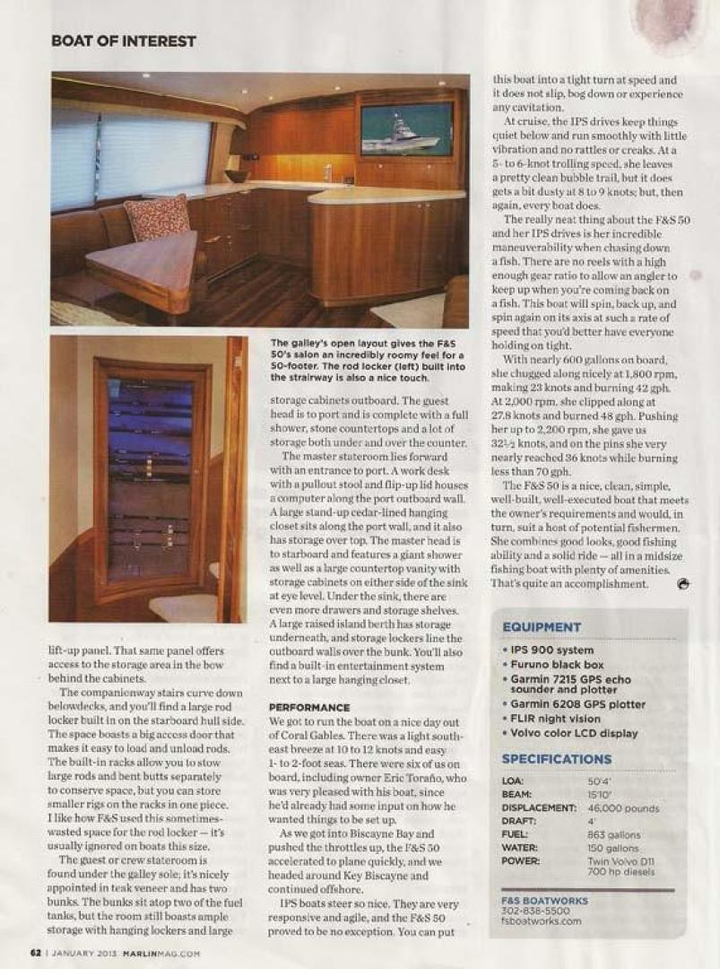 F&S-Convertible 2013-Triple F Coral Gables-Florida-United States-Marlin Test page 3-1016976 | Thumbnail