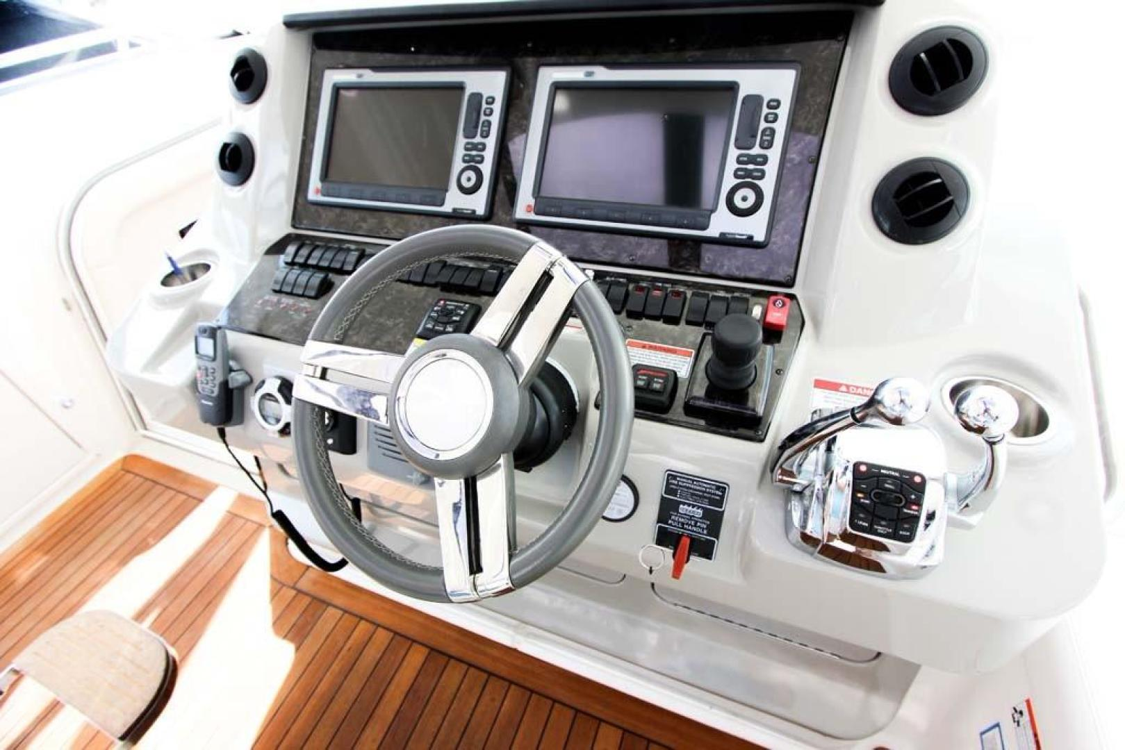 Sea Ray-540 Sundancer 2011-XS Miami-Florida-United States-Helm Controls-918511 | Thumbnail
