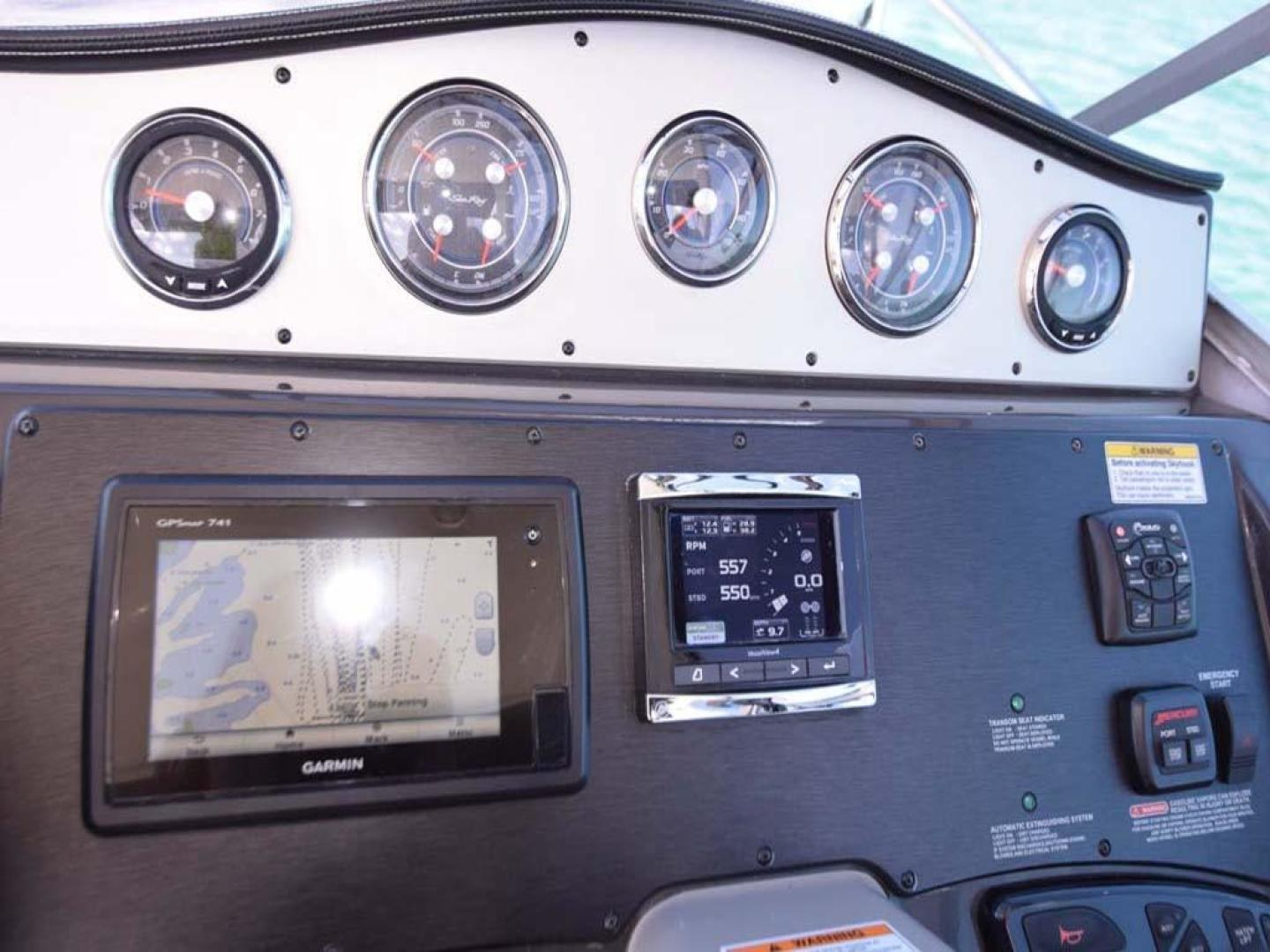 Sea Ray-Sundancer 2015-Webfoot Miami-Florida-United States-Helm Electronics-369616 | Thumbnail