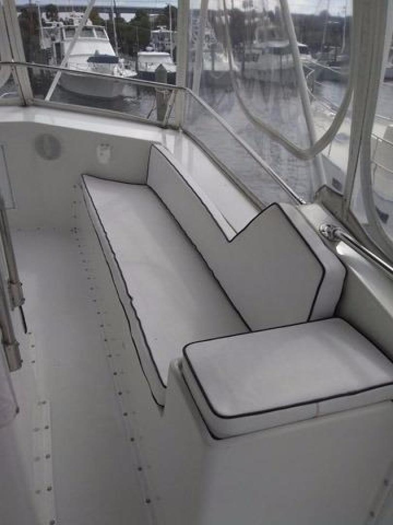 Hatteras-50 Convertible 1981 -Stuart-Florida-United States-Starboard Bridge Seating-372081 | Thumbnail
