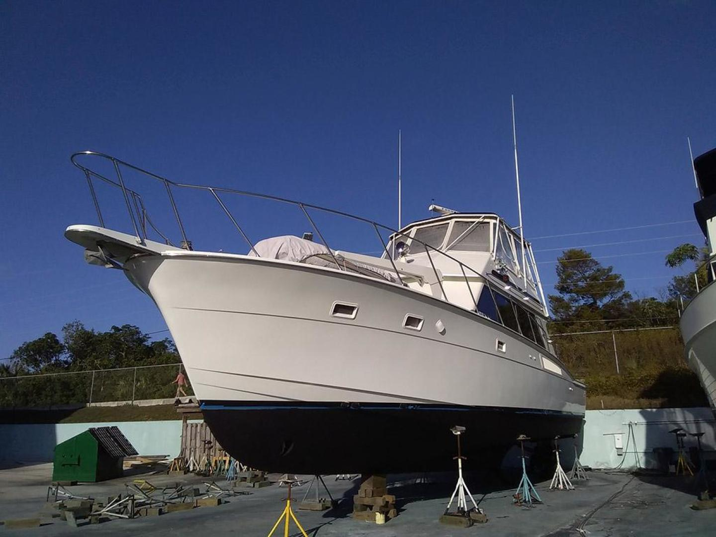 Hatteras-50 Convertible 1981 -Stuart-Florida-United States-Bow on the Hard-372119 | Thumbnail