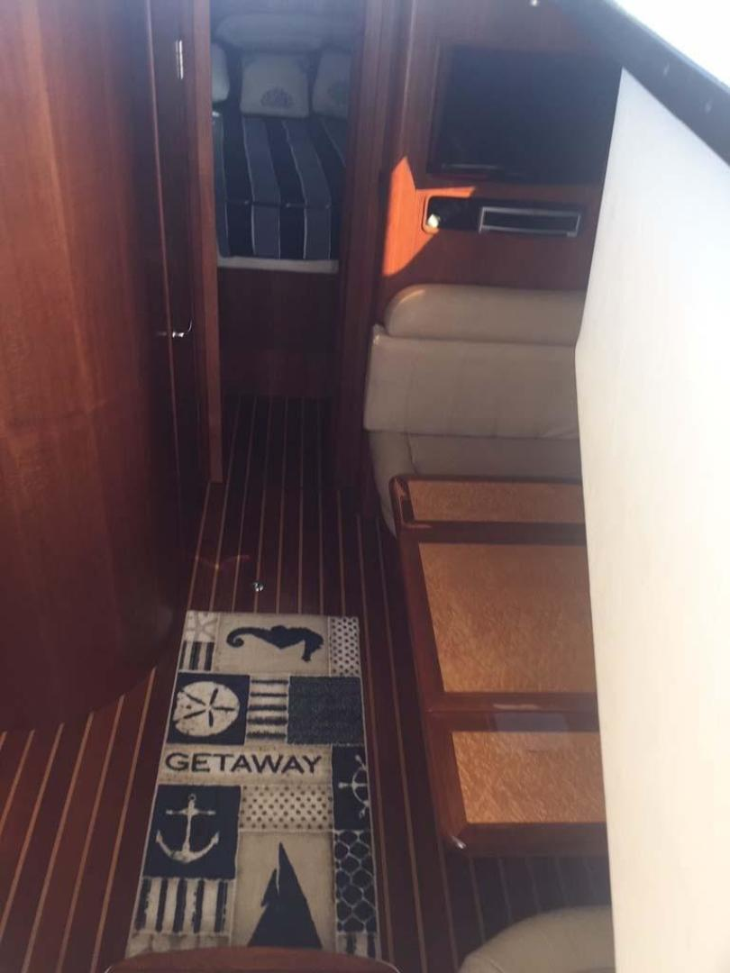 Tiara-3800 Open 2008-Keepin it Reel Hobe Sound-Florida-United States-Teak and Holly Sole in Cabin-372965 | Thumbnail