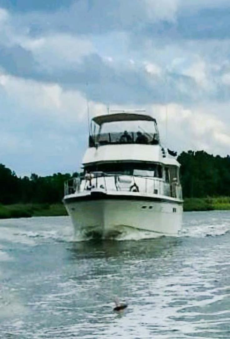 Hatteras-Motor Yacht 1987-I One Jacksonville-Florida-United States-Underway from NC-920166 | Thumbnail