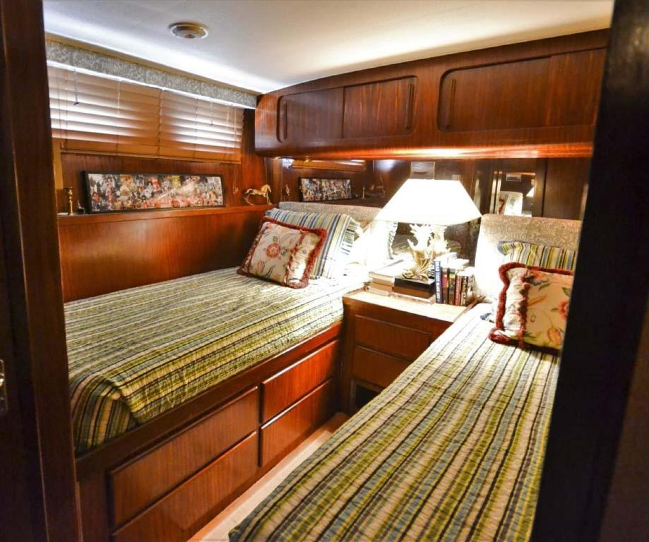 Hatteras-Motor Yacht 1987-I One Jacksonville-Florida-United States-Guest Stateroom-920156 | Thumbnail