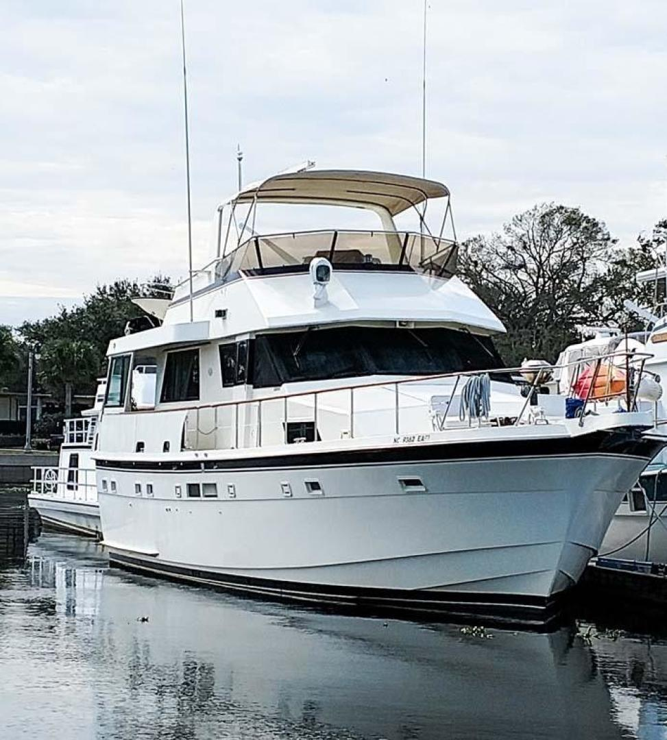 Hatteras-Motor Yacht 1987-I One Jacksonville-Florida-United States-Starboard Bow-920127 | Thumbnail