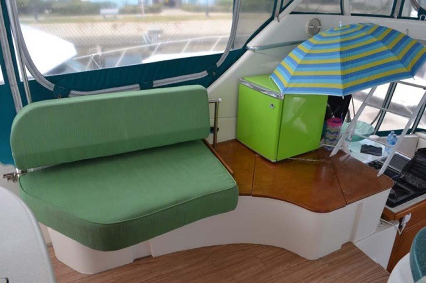 Silverton-Motor Yacht 2003-Tropical Breeze Daytona-Florida-United States-Bridge Seating-924686 | Thumbnail