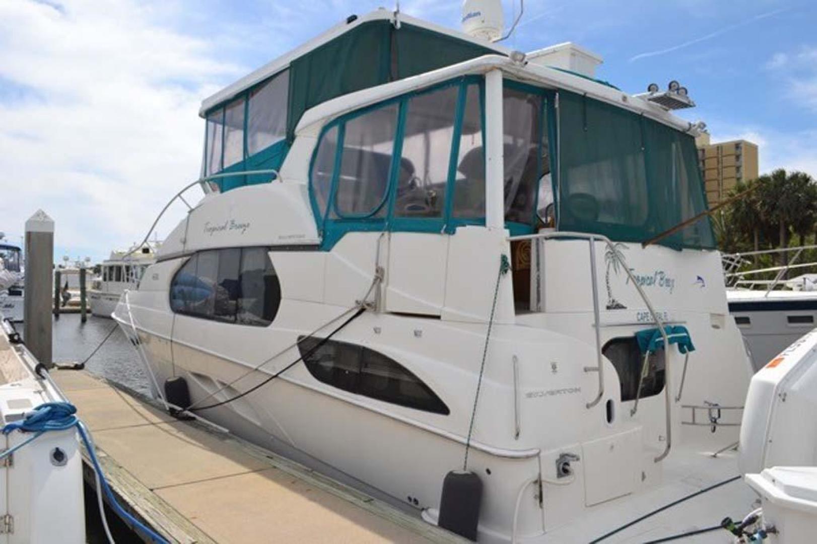 Silverton-Motor Yacht 2003-Tropical Breeze Daytona-Florida-United States-Port Aft-924678 | Thumbnail
