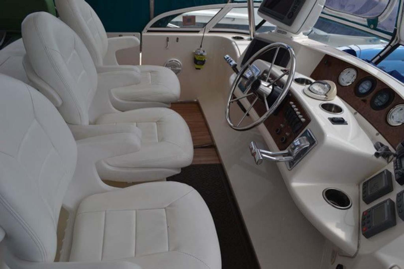 Silverton-Motor Yacht 2003-Tropical Breeze Daytona-Florida-United States-Helm Seats-924681 | Thumbnail