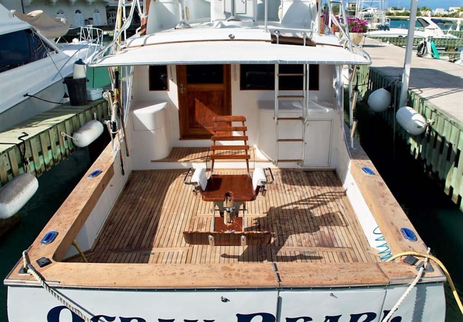 Buddy Davis-51 Custom Carolina Sportfish 1988-Ocean Pearl St. Peter-Barbados-Cockpit-929904   Thumbnail