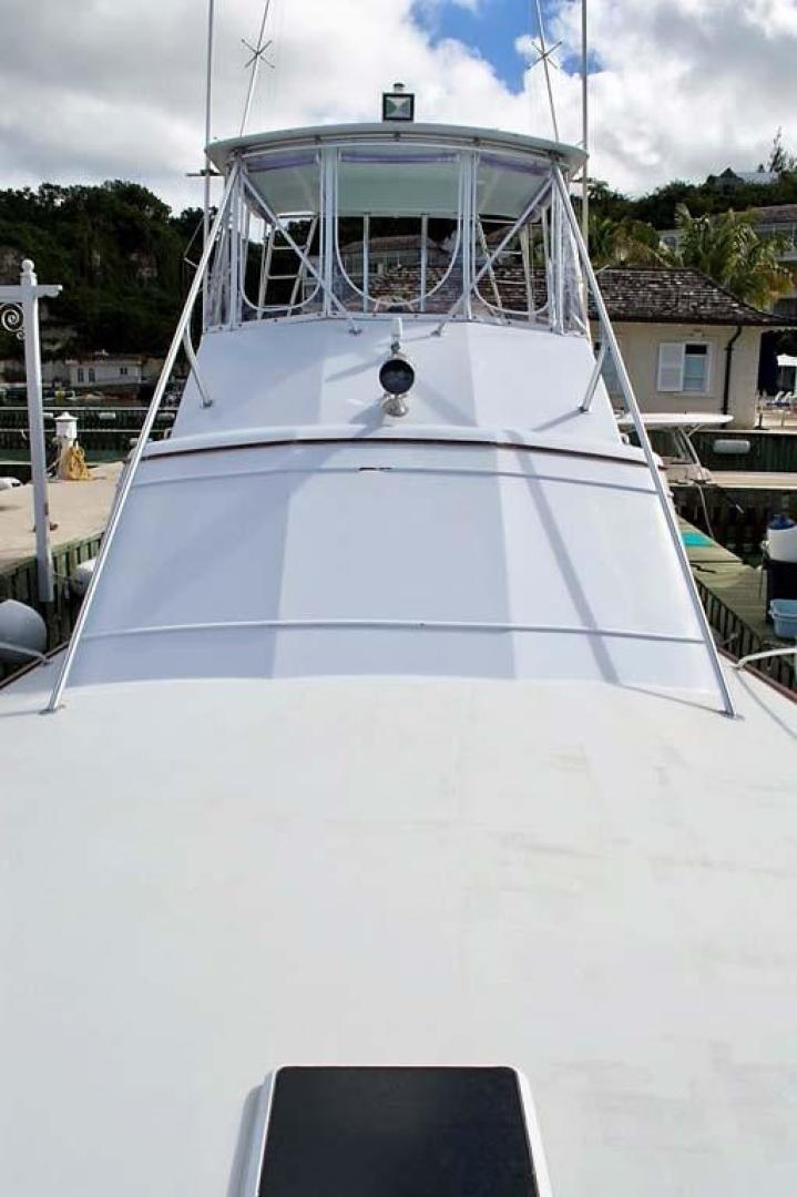 Buddy Davis-51 Custom Carolina Sportfish 1988-Ocean Pearl St. Peter-Barbados-Foredeck Looking Aft-929902   Thumbnail