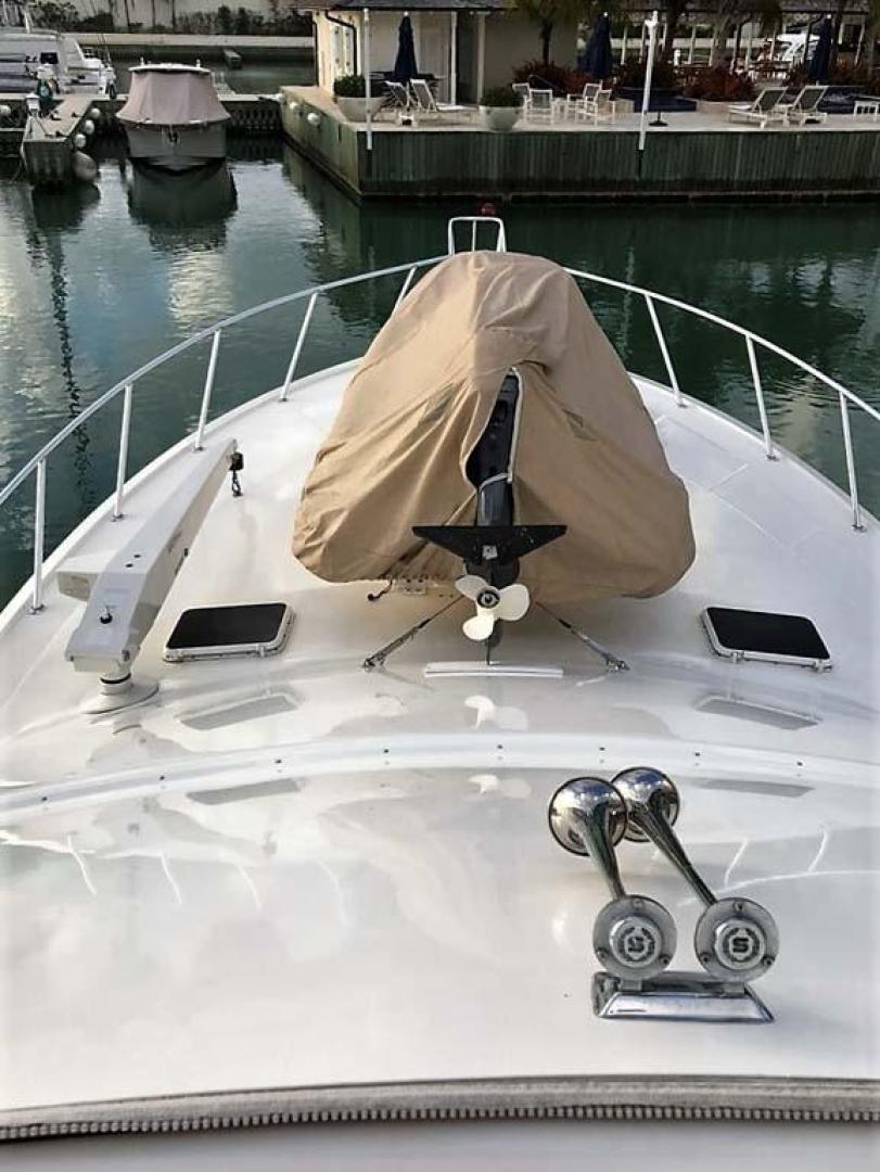 Ocean-Yachts-53-Super-Sport-1998-Made-in-the-Shade-Stuart-United-States-Foredeck-929974