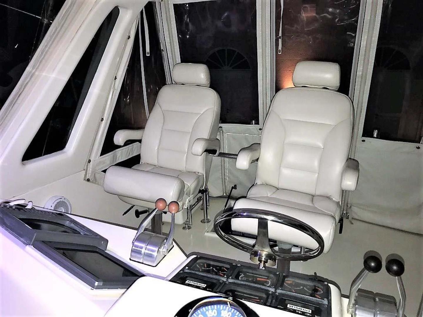 Ocean-Yachts-53-Super-Sport-1998-Made-in-the-Shade-Stuart-United-States-Helm-Seats-929983