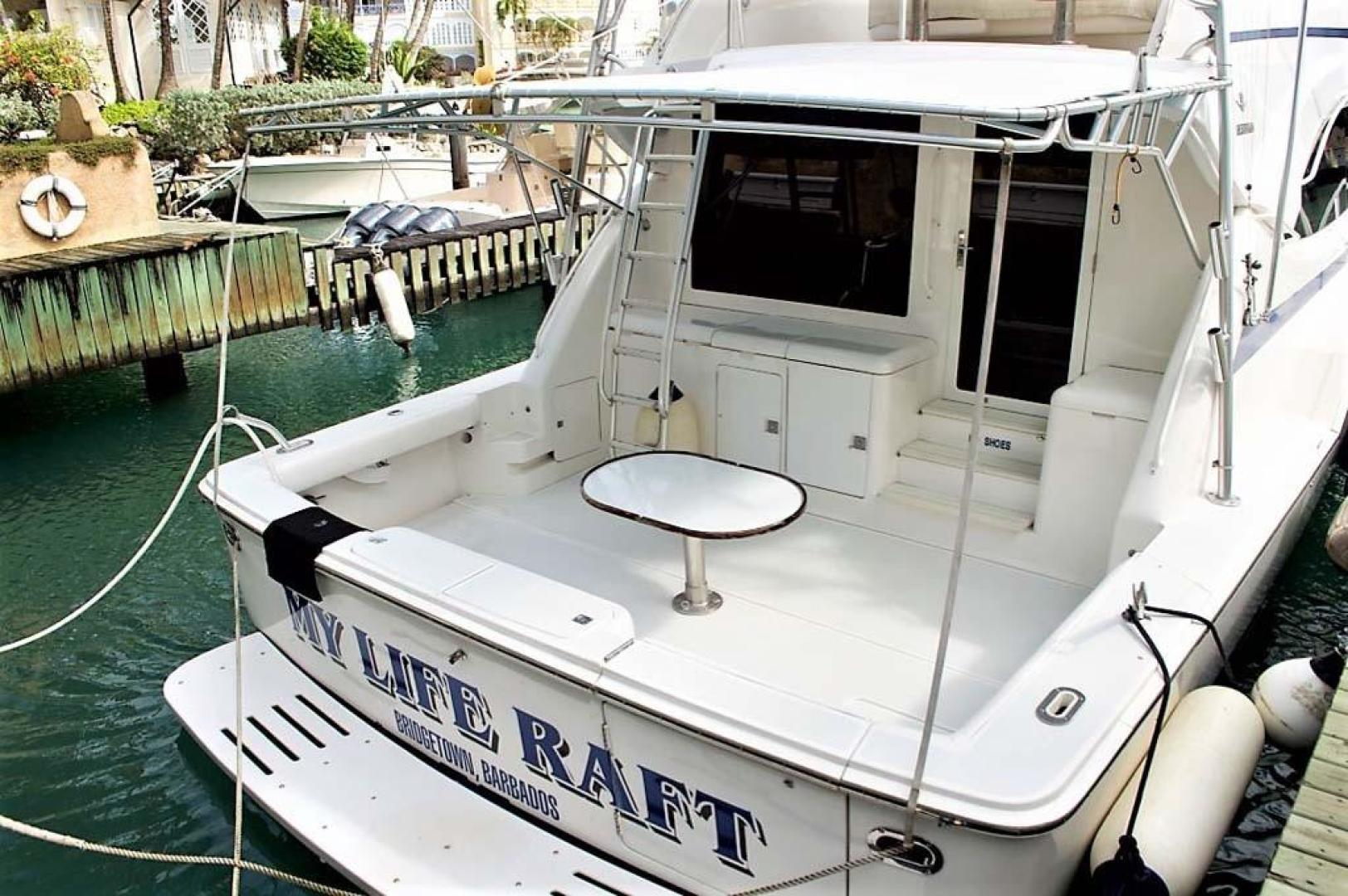 Bertram-510 Convertible 2001-My Life Raft St. Peter-Barbados-Transom-930007 | Thumbnail