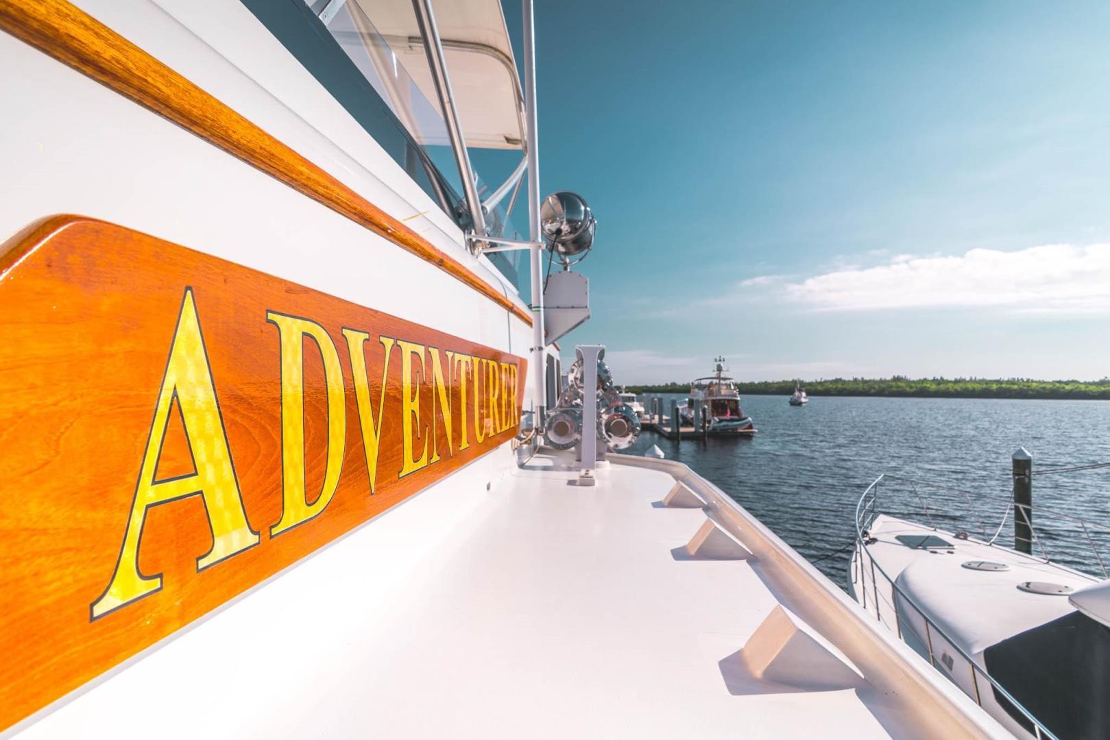 Burger-Raised Pilot House 1987-Adventurer Cape Coral-Florida-United States-Name Board-348032   Thumbnail