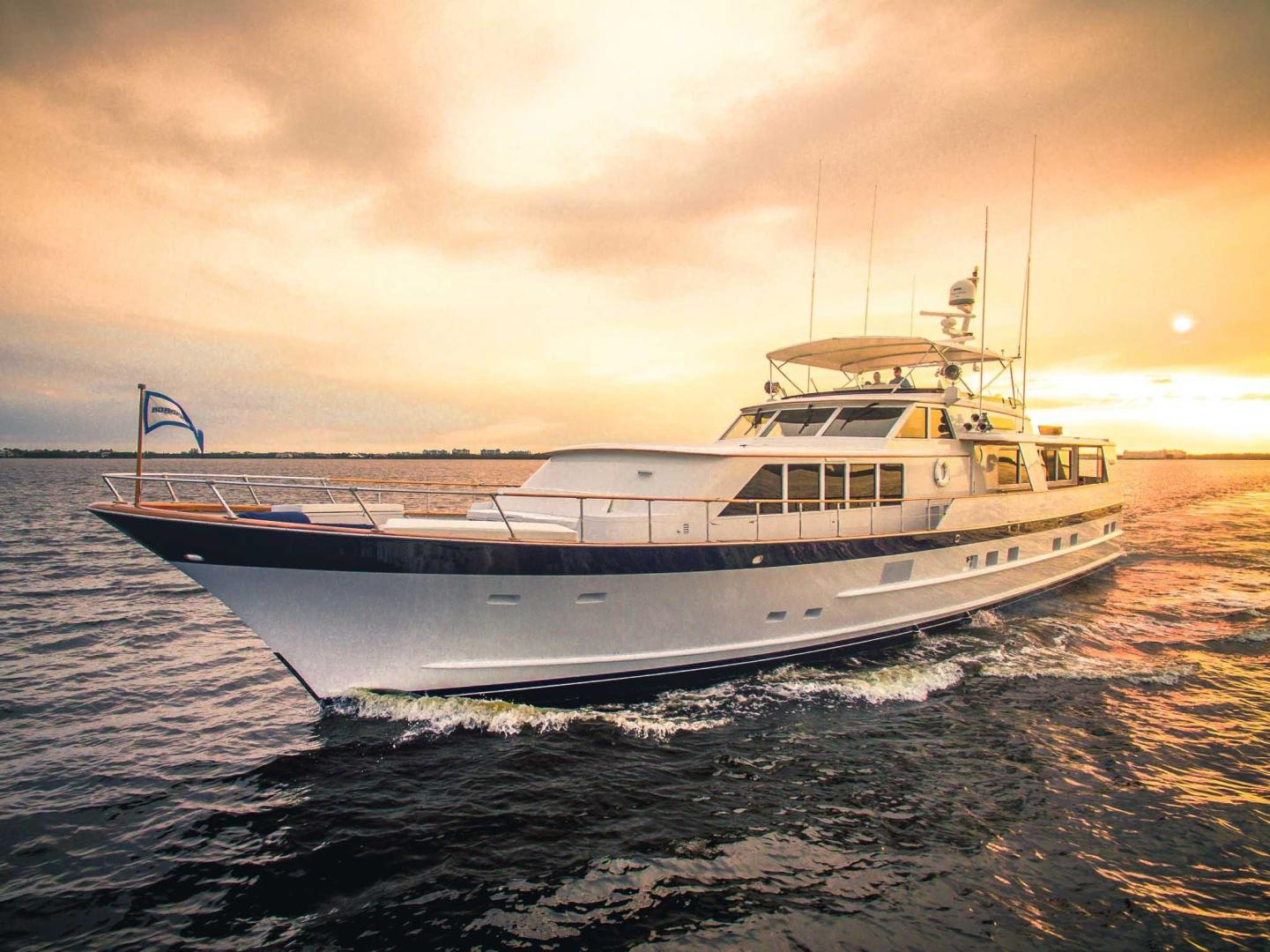 Picture Of: 86' Burger Raised Pilot House 1987 Yacht For Sale | 1 of 32