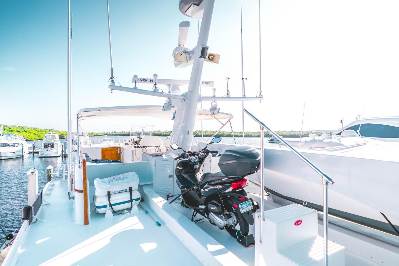 Burger-Raised Pilot House 1987-Adventurer Cape Coral-Florida-United States-Boat Deck-348036   Thumbnail