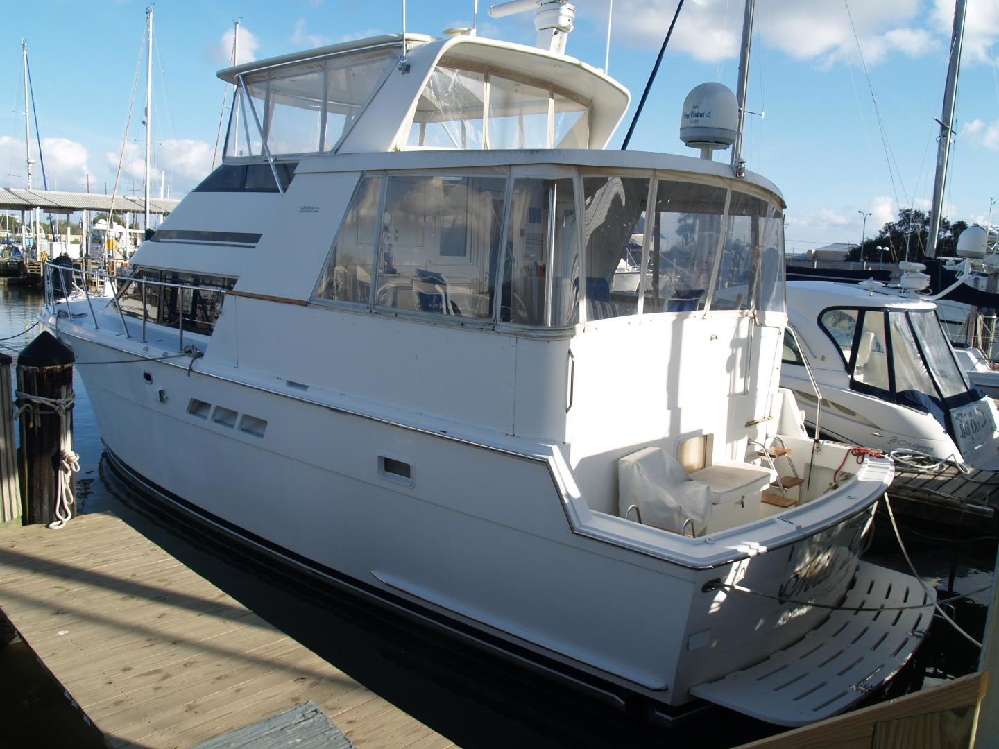 Picture Of: 48' Hatteras 48 Cockpit Motoryacht 1996 Yacht For Sale | 1 of 27