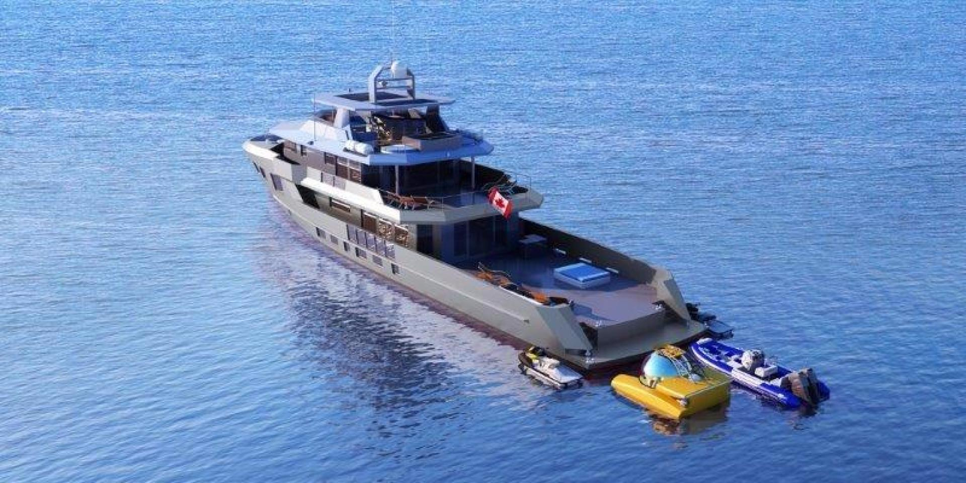 Custom-Bray Ocean Rover 132 2021 -Unknown-Florida-United States-Aft Profile-944520   Thumbnail