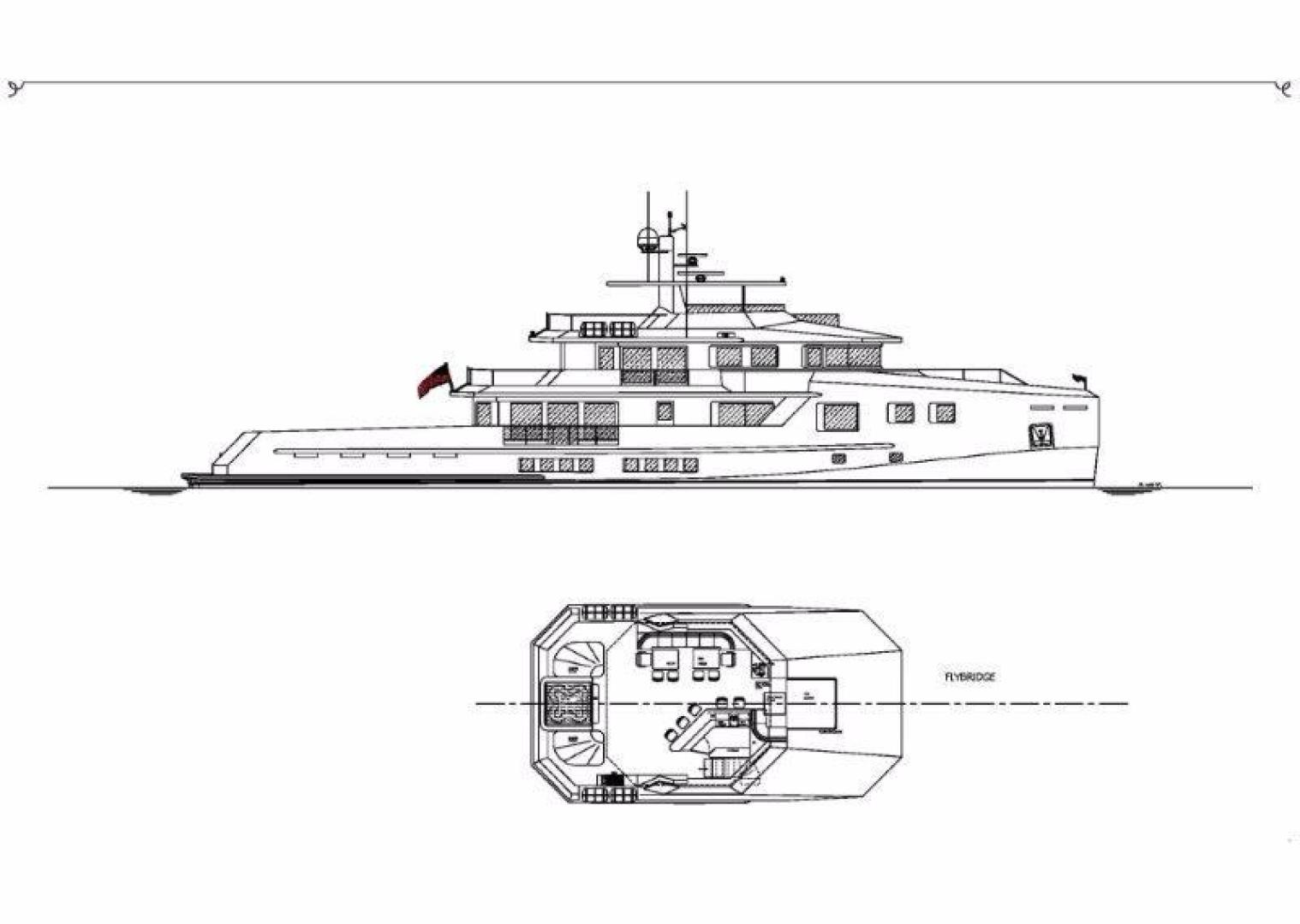Custom-Bray Ocean Rover 132 2021 -Unknown-Florida-United States-Profile and flybridge deck-944521   Thumbnail