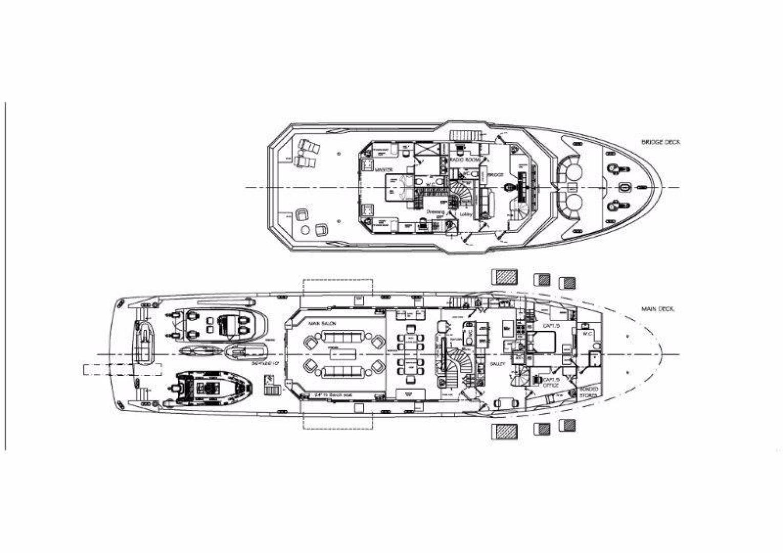 Custom-Bray Ocean Rover 132 2021 -Unknown-Florida-United States-Main Deck and Lower Deck-944523   Thumbnail
