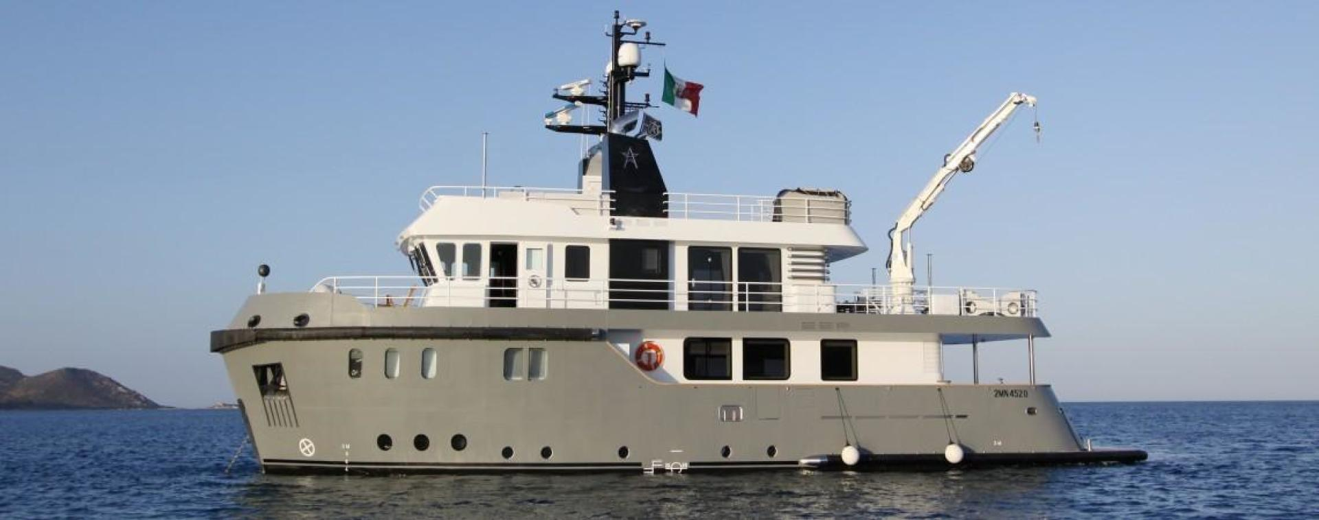 Picture Of: 88' Ocean King 88 2023 Yacht For Sale   1 of 10