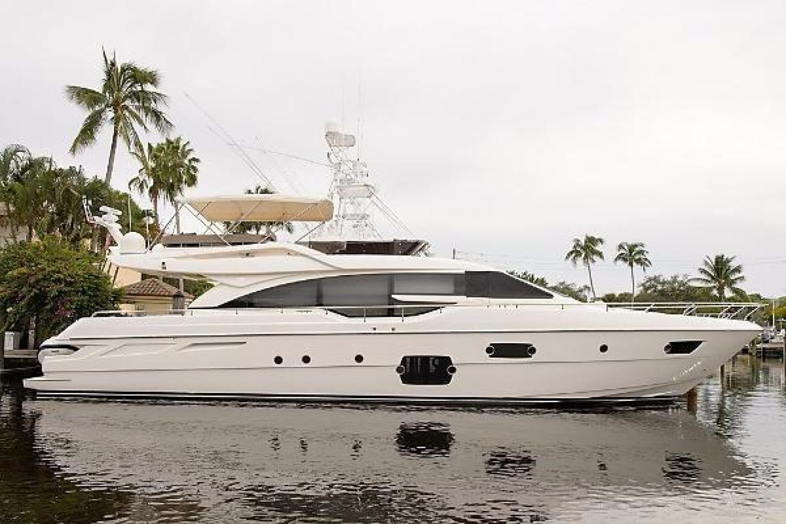 Picture Of: 69' Ferretti Yachts 690 2014 Yacht For Sale | 2 of 56
