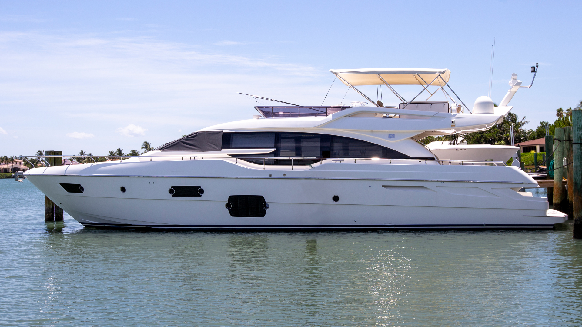 69' Ferretti Yachts 2014 690 Cloud Break