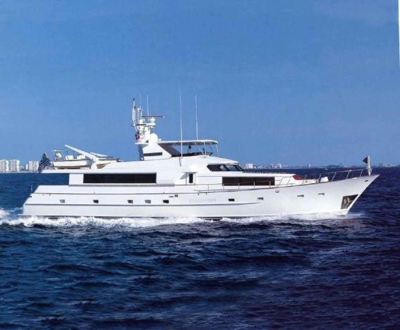 Picture Of: 102' Broward Raised Pilot House 1985 Yacht For Sale   1 of 124