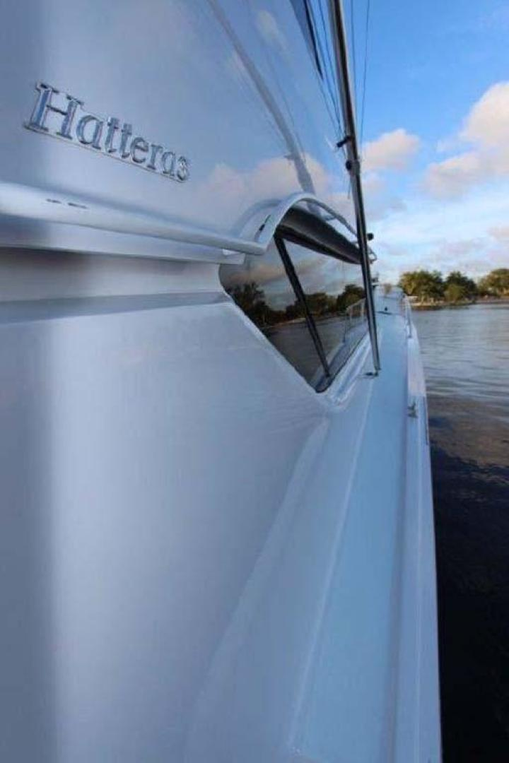 Hatteras-Enclosed Bridge 2002-El Bohemio Miami-Florida-United States-Side Deck-369534 | Thumbnail