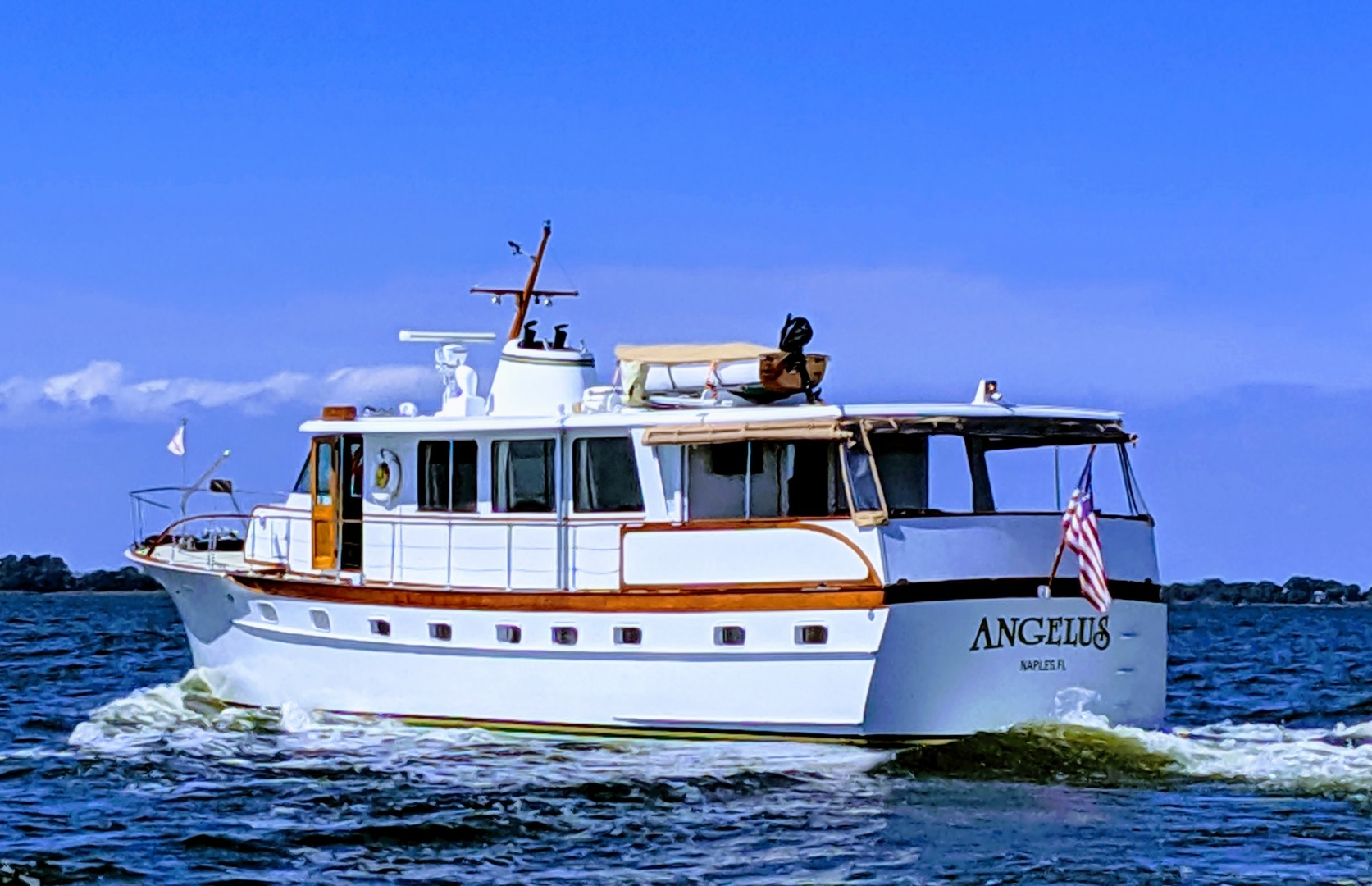 Picture Of: 63' Trumpy Houseboat 1969 Yacht For Sale | 2 of 30
