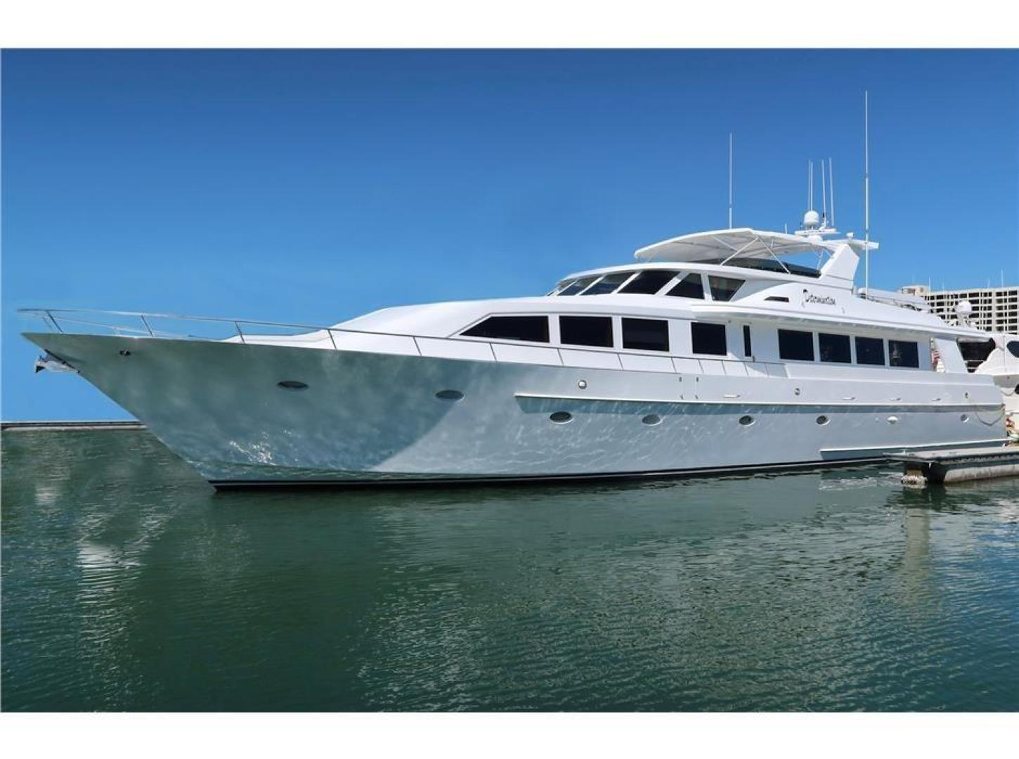1991 Crescent 102ft DETERMINATION Yacht for Sale