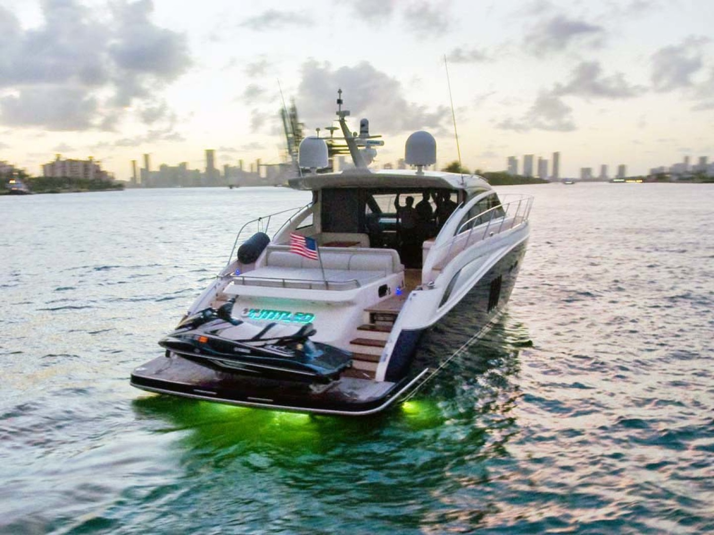 Princess-V62 2011-Untitled Miami-Florida-United States-Starboard Aft Quarter with Lights-1074671   Thumbnail