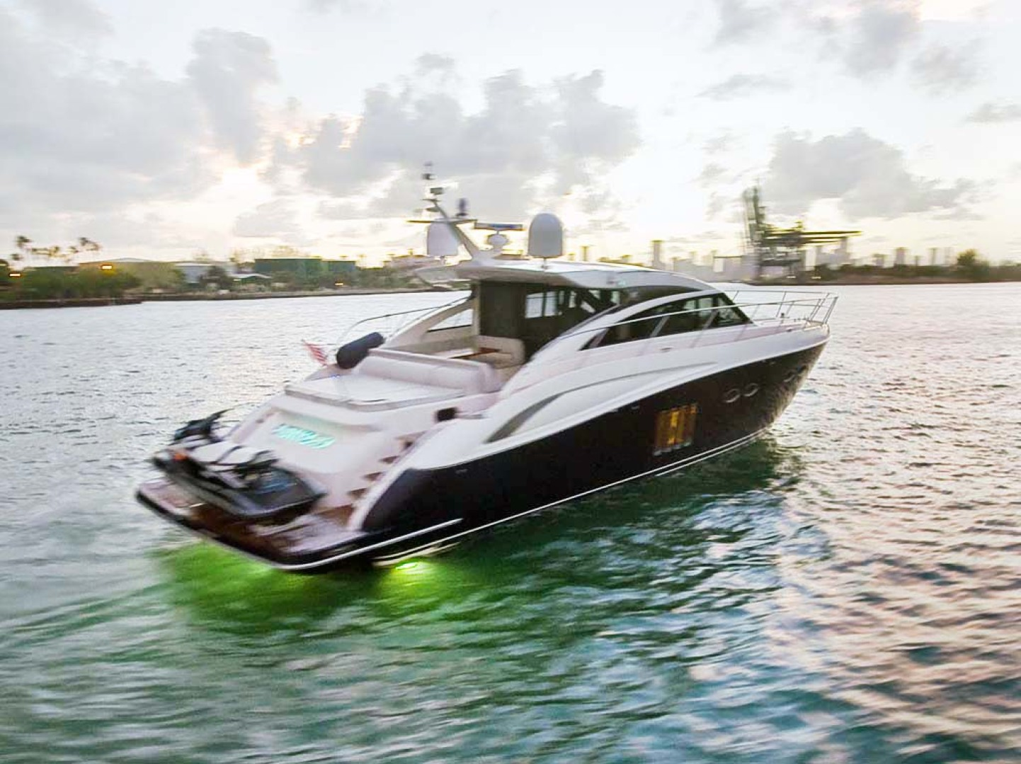 Princess-V62 2011-Untitled Miami-Florida-United States-Starboard Aft Quarter with Lights-1074672   Thumbnail