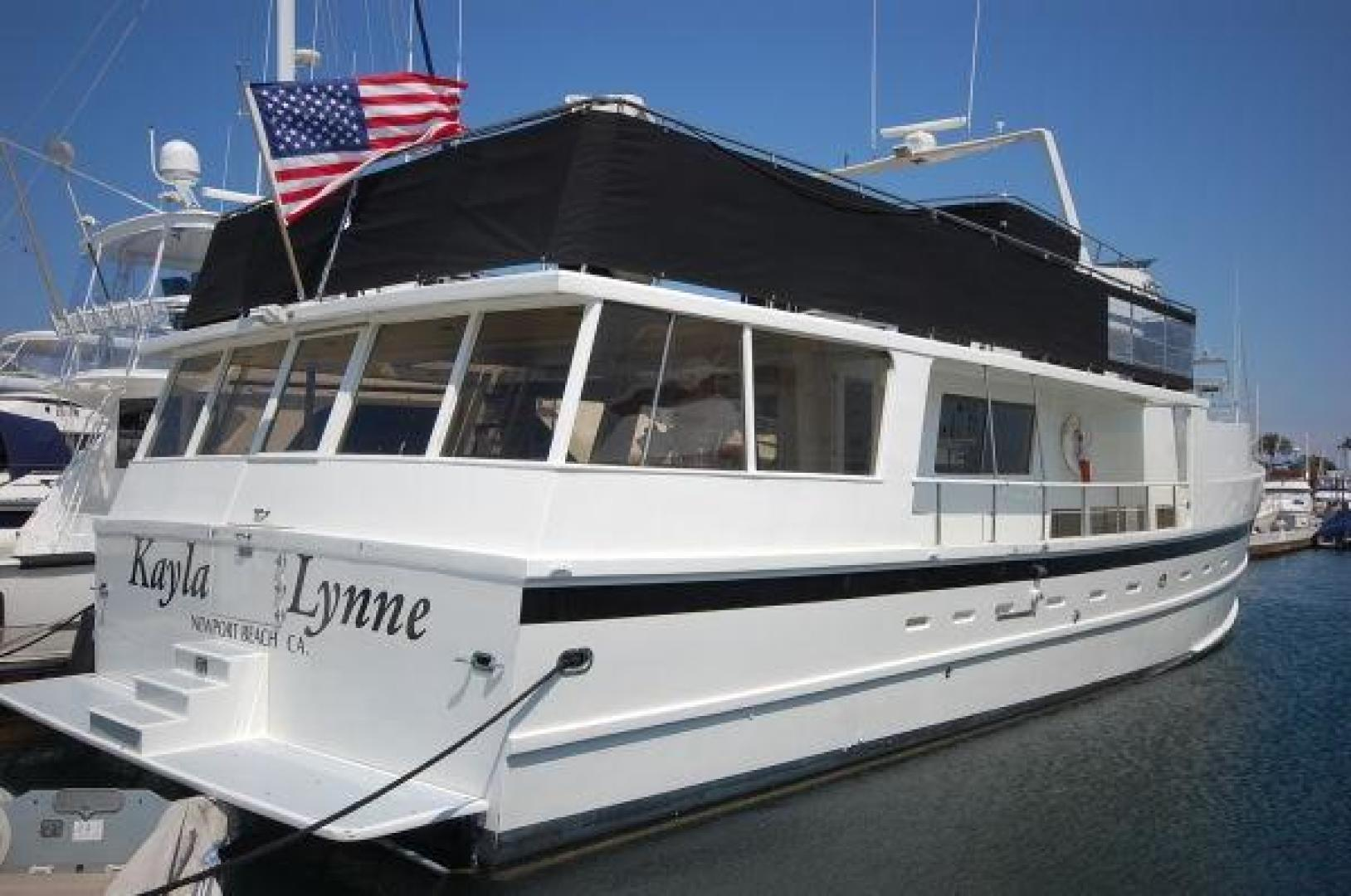 "1971 Mathews Brothers 72' Motor Yacht Coast Guard COI ""Kayla Lynne"""