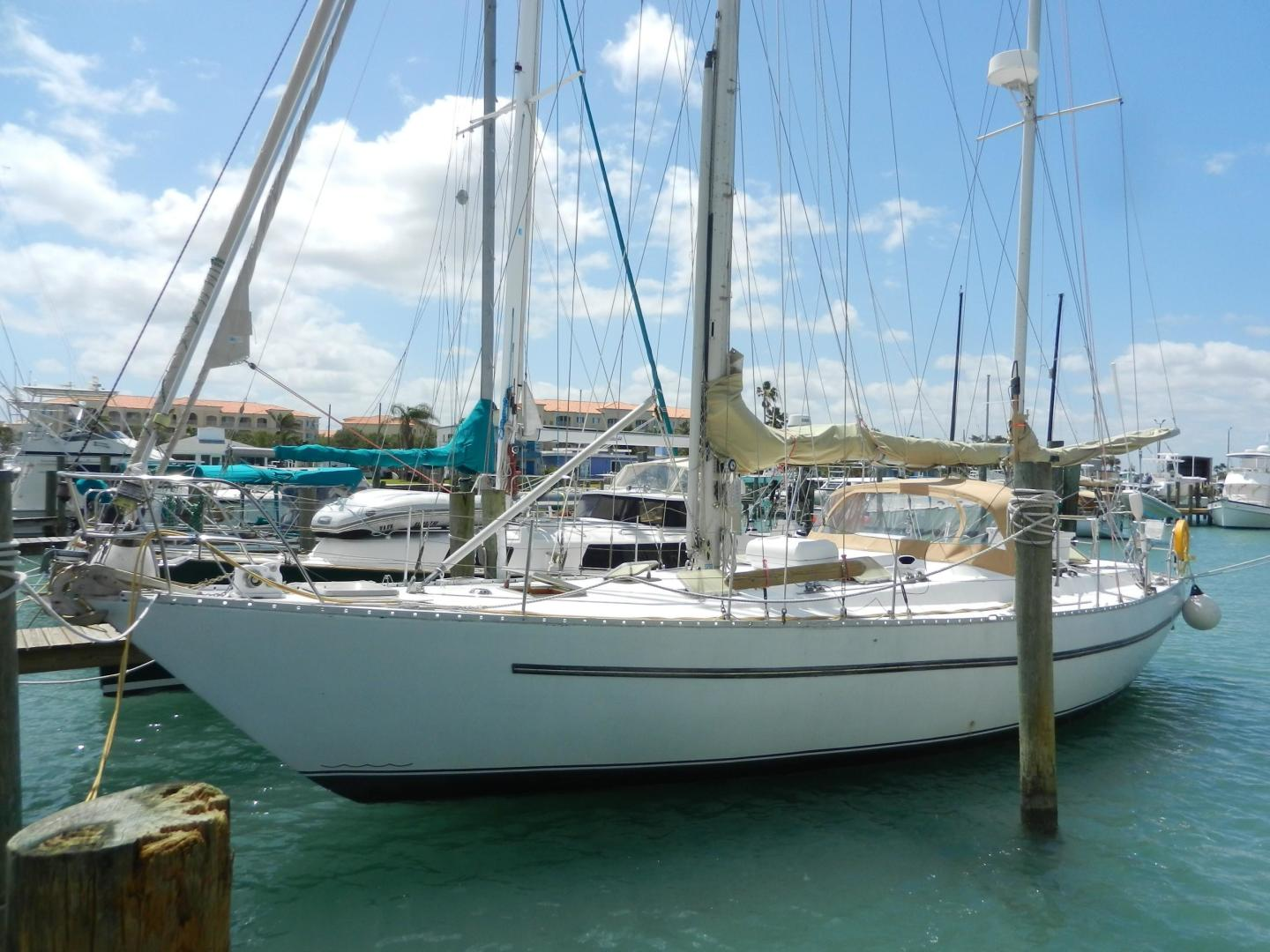 Used Bruce Roberts 44' Ketch For Sale In Florida | Seacrest