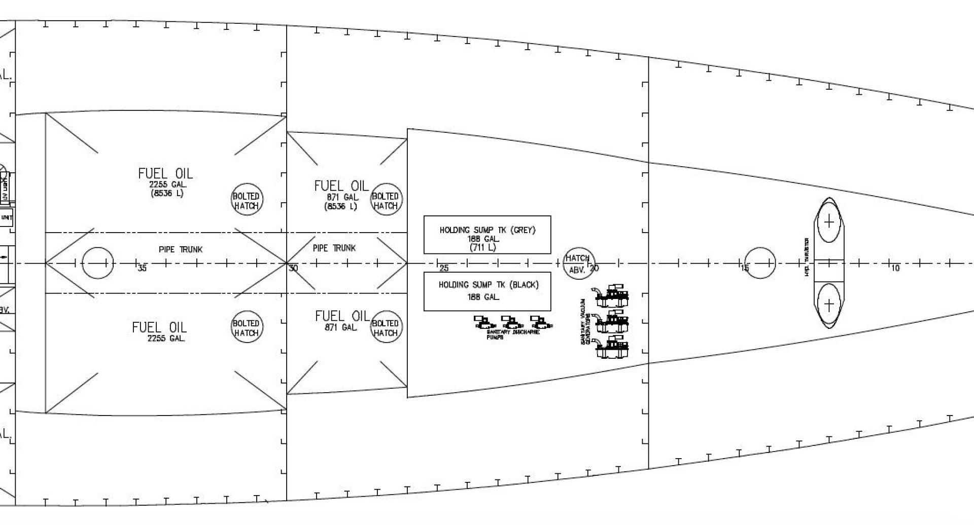 141 Eastern Shipbuilding Group 2019 Columbia Ii Ross Yachts Oil Burner Wiring Diagram