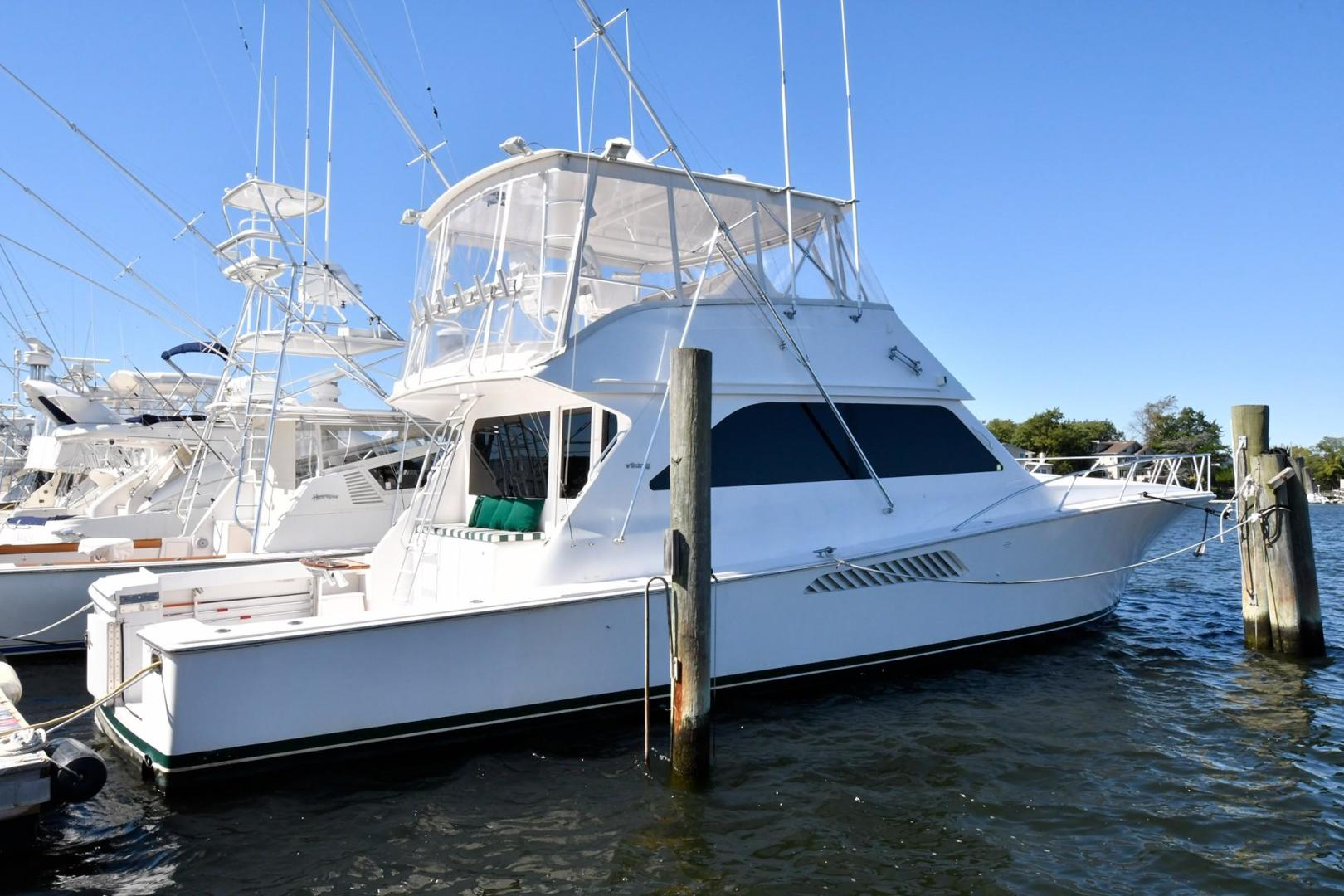 Picture Of: 55' Viking Convertible 1999 Yacht For Sale   1 of 24