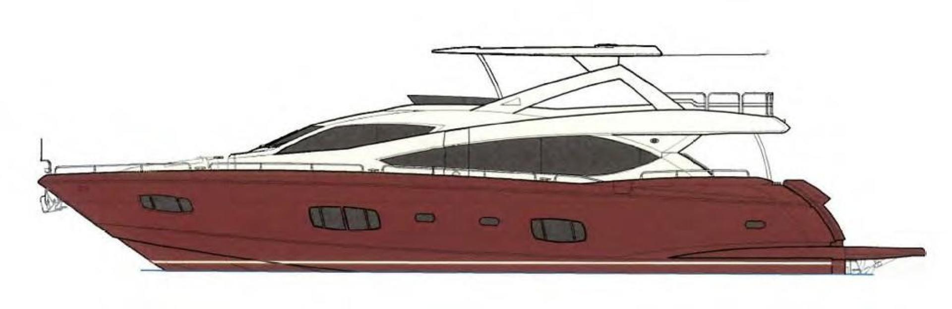 Sunseeker-Flybridge Motoryacht 2009-ANNABEL Mallorca-Spain-Profile Layout-902631 | Thumbnail