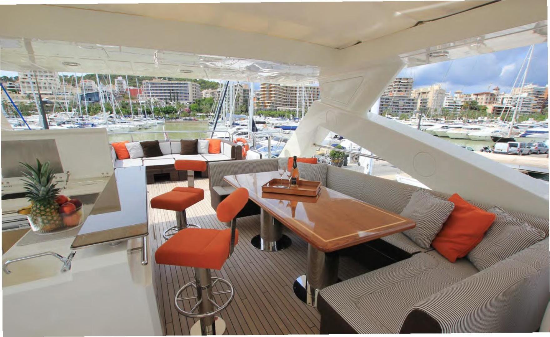 Sunseeker-Flybridge Motoryacht 2009-ANNABEL Mallorca-Spain-Flybridge-902624 | Thumbnail