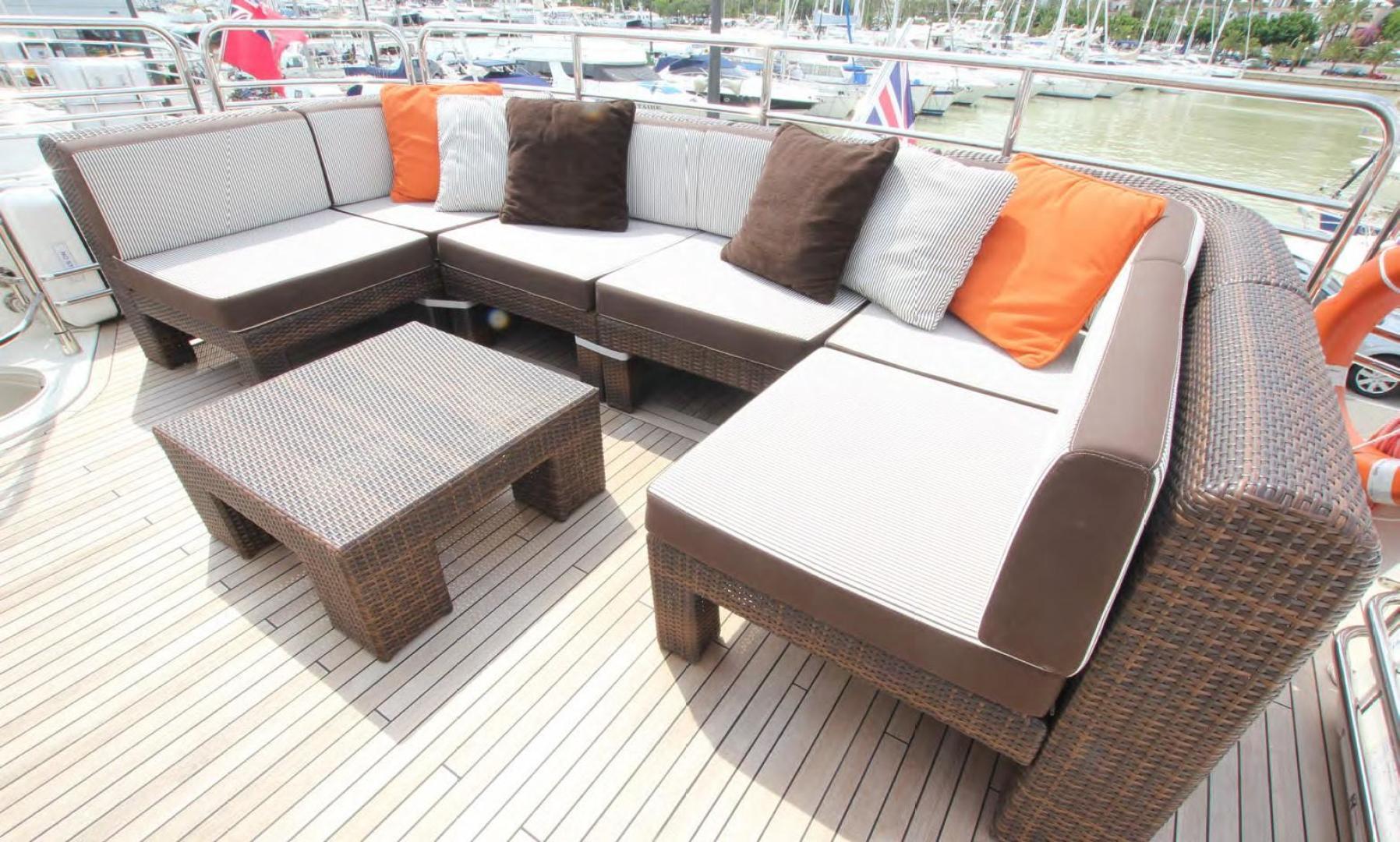 Sunseeker-Flybridge Motoryacht 2009-ANNABEL Mallorca-Spain-Flybridge Seating-902625 | Thumbnail