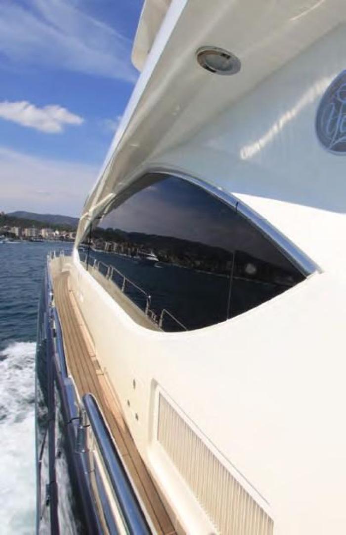 Sunseeker-Flybridge Motoryacht 2009-ANNABEL Mallorca-Spain-Side Deck-902626 | Thumbnail