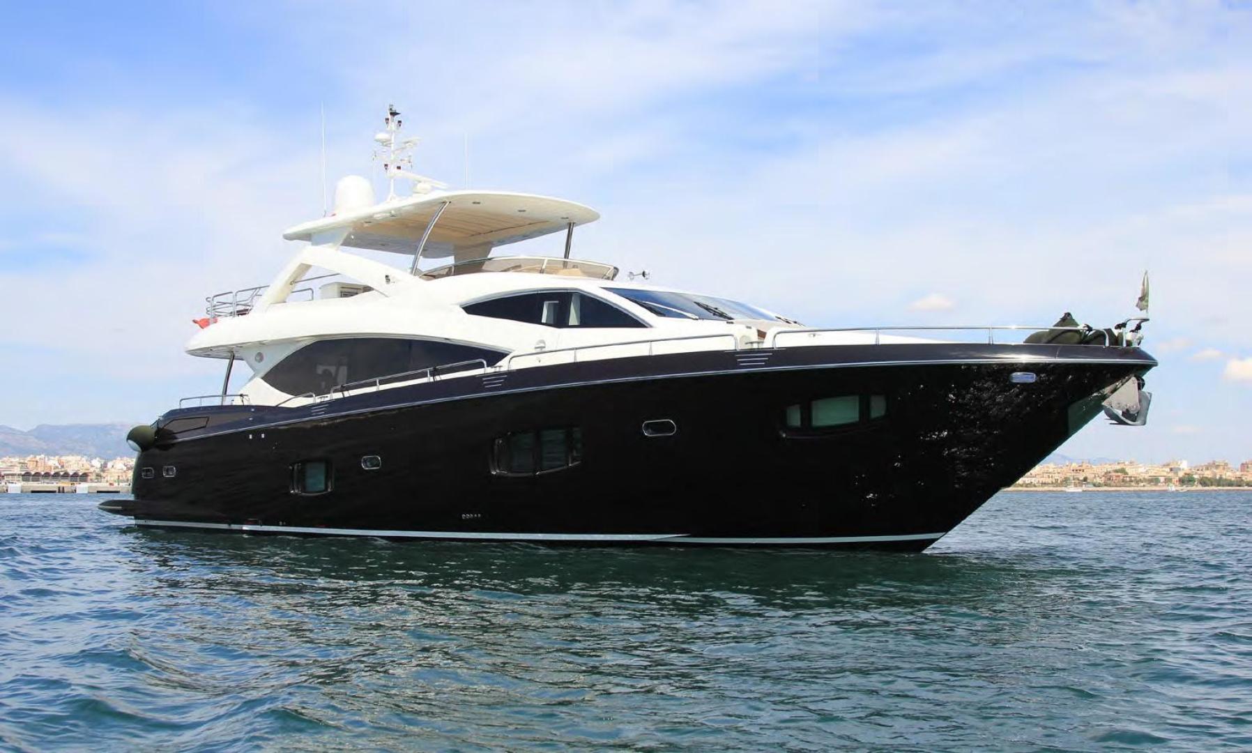 Sunseeker-Flybridge Motoryacht 2009-ANNABEL Mallorca-Spain-Starboard Profile-902629 | Thumbnail