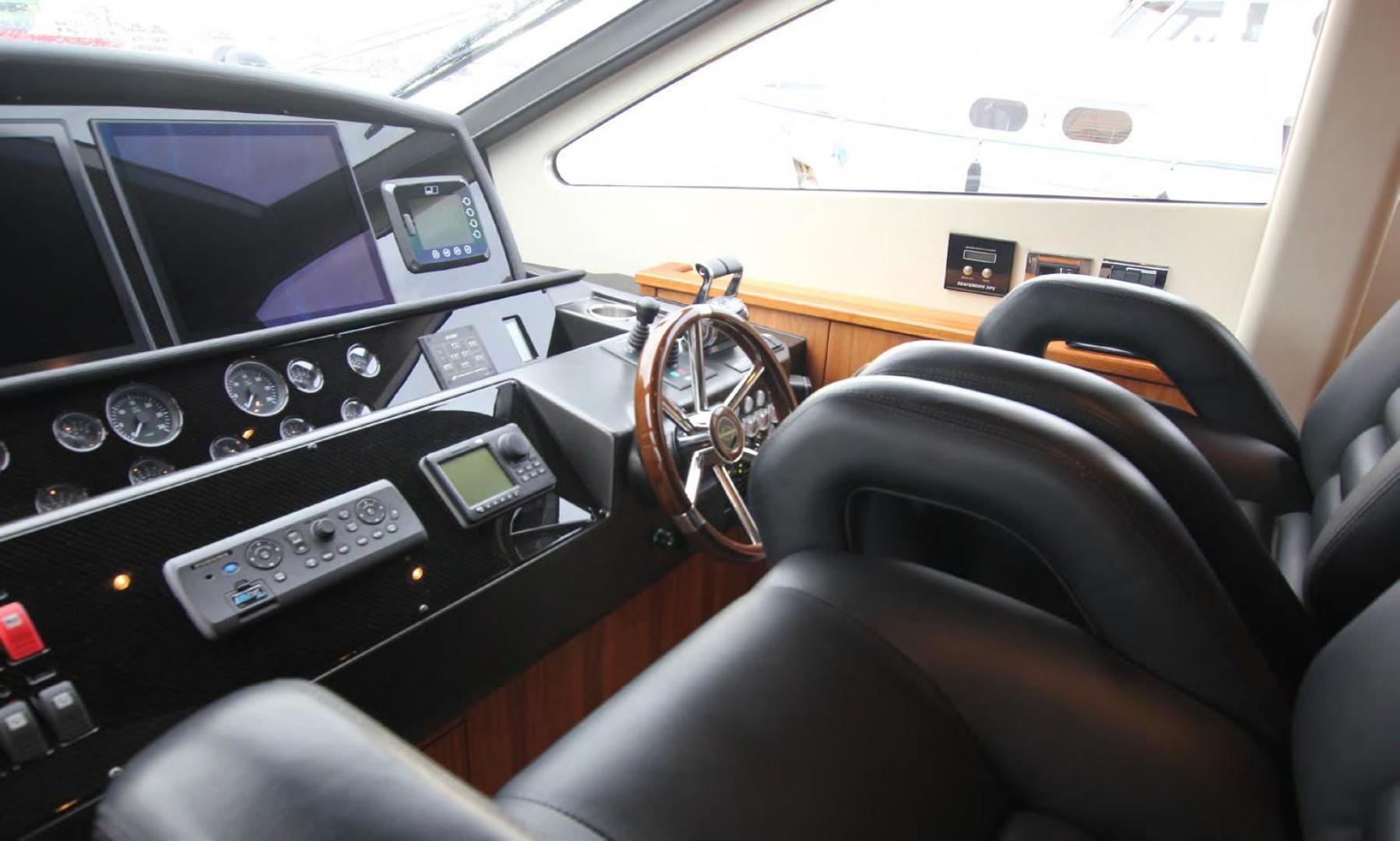 Sunseeker-Flybridge Motoryacht 2009-ANNABEL Mallorca-Spain-Helm-902616 | Thumbnail